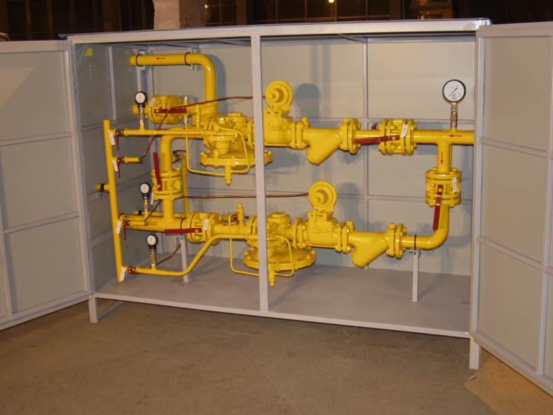 Отгрузка газорегуляторных пунктов ГСГО-100 в Казахстан