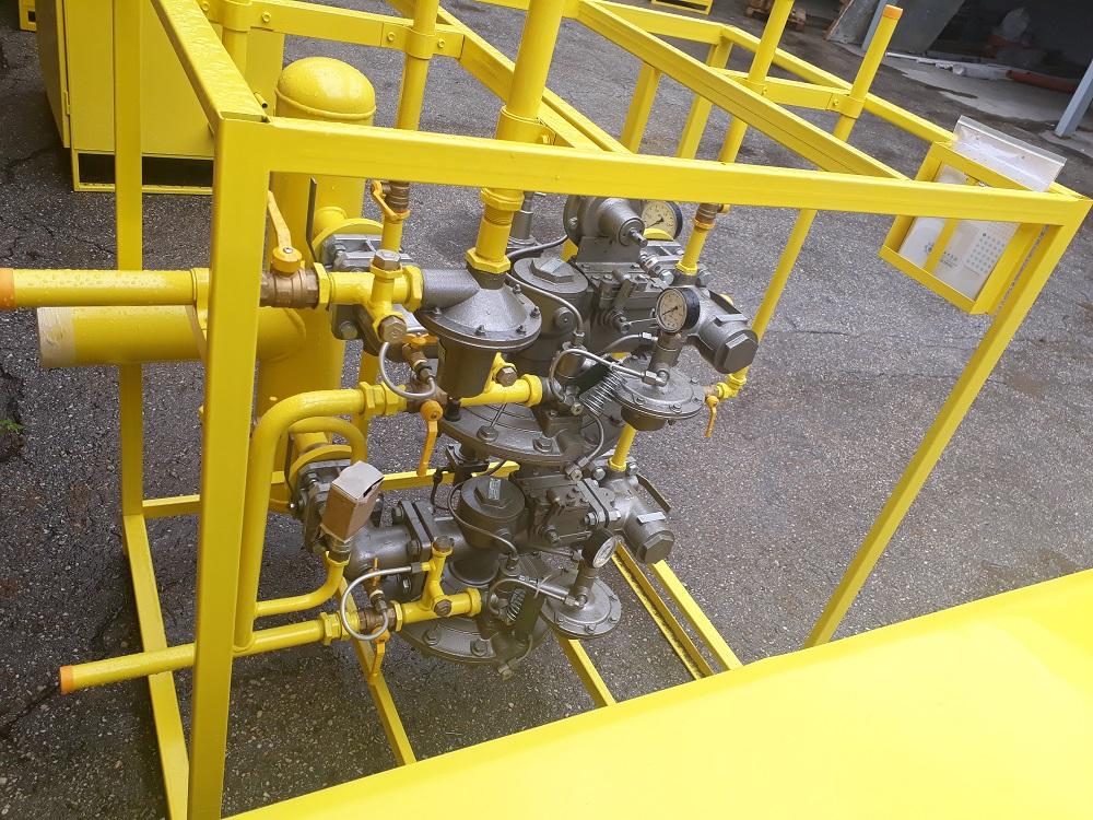 Пункт редуцирования газа ПУРГ Газовичок-А8442-7000. Исполнение на раме.