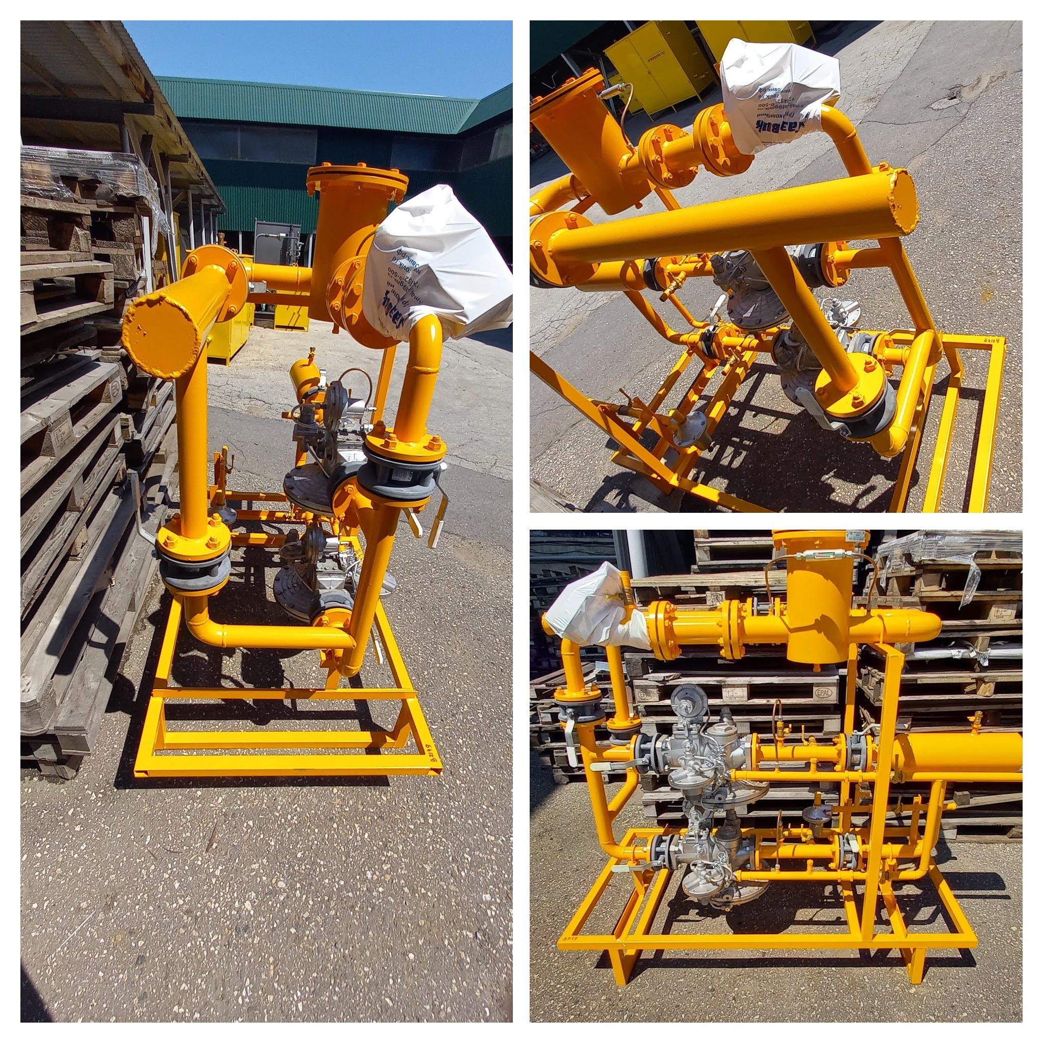 Изготовление газорегуляторной установки Газовичок-В2149-7000